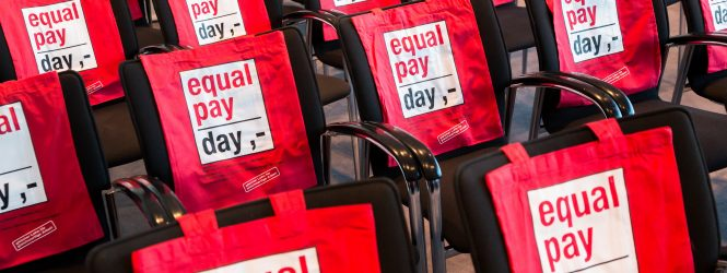 Heute ist Equal Pay Day